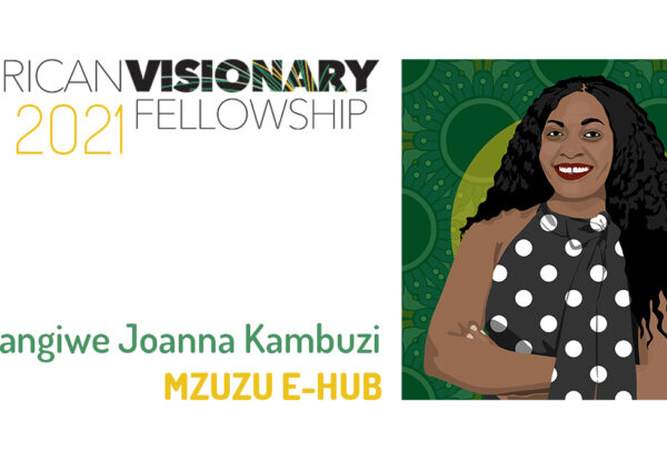Miss Wangiwe Joanna Kambuzi - Founder and Managing Director for Mzuzu E Hub